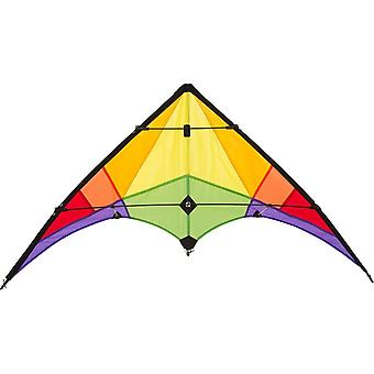 HQ Kites Eco Line Rookie Rainbow Stunt Kite Ages 8 Years+