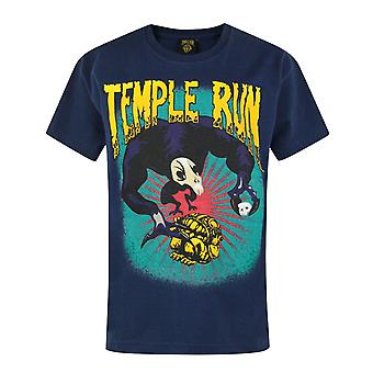 Official Temple Run Boy's Blue T-Shirt
