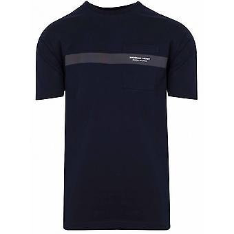 Marshall Artist Marshall Artist Navy Short Sleeve T-Shirt