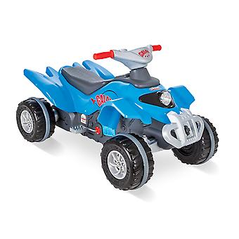 Pilsan Galaxy ATV Pedal Operated Quad Blue