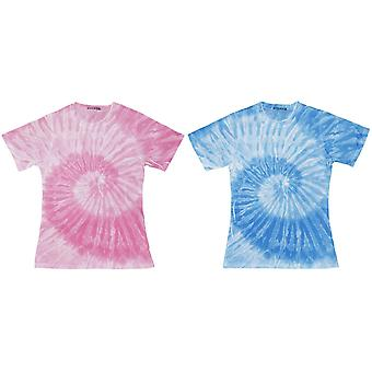 ColorTone Womens/Ladies manches courtes Spider Tie Dye T-Shirt