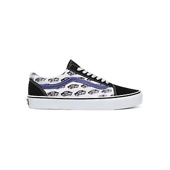 Busjes - Schoenen - Sneakers - OLD-SKOOL_VN0A4BV5T2N1 - Heren - zwart,blauw - US 9