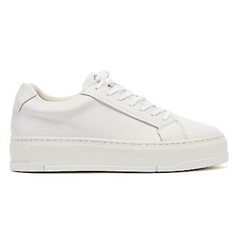 Vagabond Judy Leather Womens White Trainers