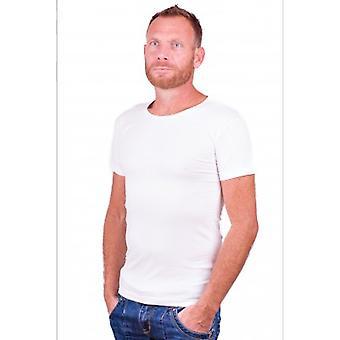 Alan Rot T-Shirt No-O weiß (zwei Stück)