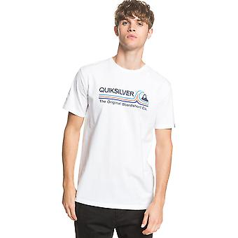 Quiksilver Men's T-Shirt ~ Stone Cold white