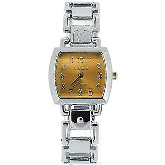 The Olivia Collection Ladies Square Goldtone Dial Armband Strap Dress Watch COS48