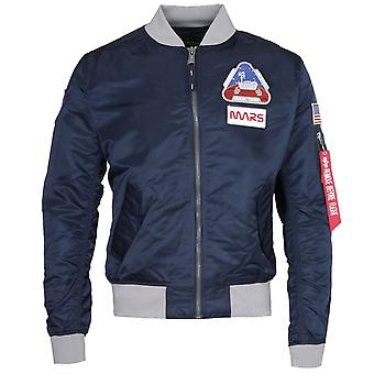 Alpha Industries MA-1 Uppdrag till Mars Navy Blue Bomber Jacket