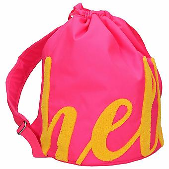 Depesche 10186 Backpack With Drawstring Topmodel Hello, Pink