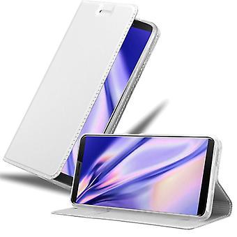 Cadorabo fall för Cubot J3 PRO fall täcka - mobiltelefon fall med magnetiskt lås, stå funktion och kortfack - Case Cover Skyddande case Book Folding Style