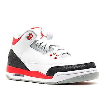 Air Jordan 3 Retro (Gs) '2013 liberar' - 398614-120-sapatos