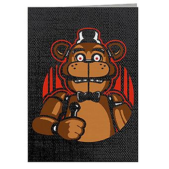 Sing With Me Five Nights At Freddys Greeting Card