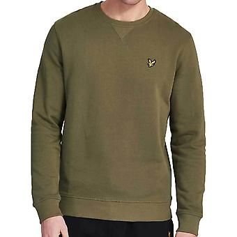 Lyle & Scott Crew Neck Collegetakki Lichen ML424VTR