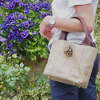 Hettie handbag  - Slate Oatmeal
