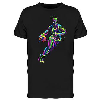 Multicolore Player Basketball Tee-apos;s -Image par Shutterstock