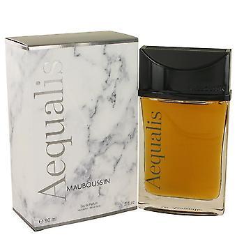 Aequalis Eau DE Parfum Spray By Mauboussin 3 oz Eau DE Parfum Spray