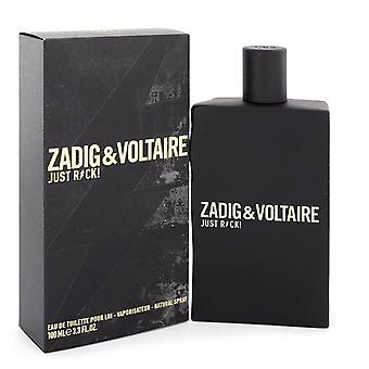 Just Rock Eau De Toilette Spray By Zadig & Voltaire 3.3 oz Eau De Toilette Spray