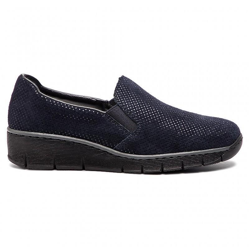 Rieker royal loafers womens blue