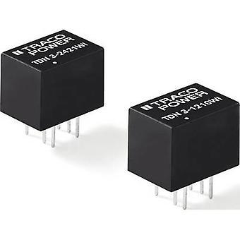 TracoPower TDN 3-2419WI Convertidor CC/CC (impresión) 333 mA 3 W No. de salidas: 1 x