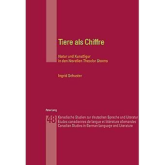 Tiere ALS Chiffre - Natur Und Kunstfigur in Den Novellen Theodor Storm