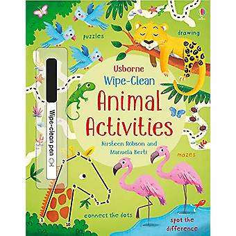 Wipe-Clean Animal Activities by Kirsteen Robson - 9781474951326 Book