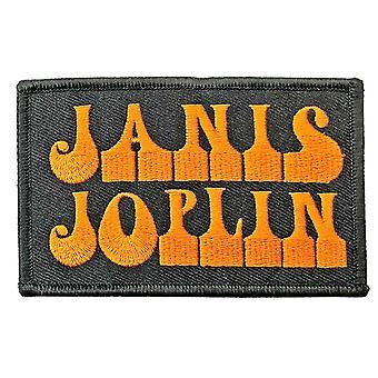 Janis Joplin Patch Logo new Official Black Iron On
