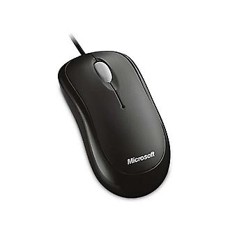 Microsoft Basic Black Optical Usb Mouse