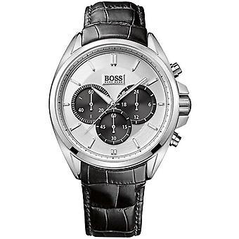 הוגו בוס 1512880 קוורץ עם עור הכרונוגרף קוורץ גברים ' s שעון