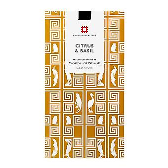Woods of Windsor English Heritage Fragrance Sachet - Citrus & Basil