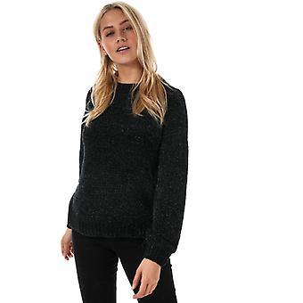 Naiset's Vero Moda Mula Lurex Jumper musta