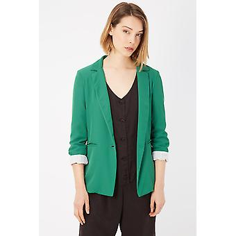 Green Blazer Please Women