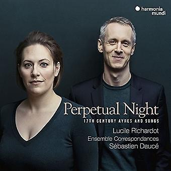 Lucile Richardot - Perpetual Night - 17th Century Ayres & Songs [CD] USA import
