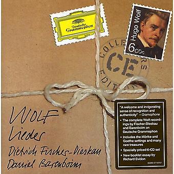 Fischer-Dieskau/Barenboim - Hugo Wolf: Lieder [CD] USA import
