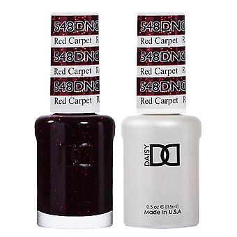 DND Duo Gel & Nail Polish Set - Red Carpet 548 - 2x15ml