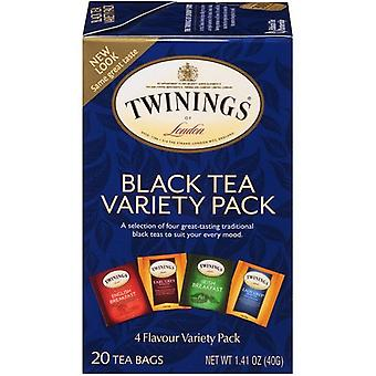 Twinings van London Classics zwarte thee Variety Pack