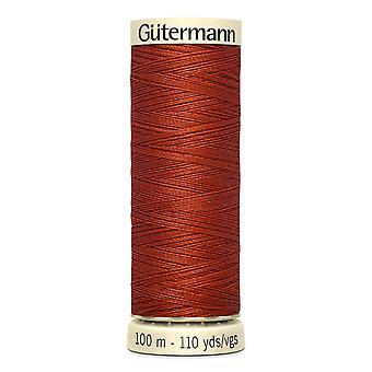 Gutermann Costura-tudo 100% Polyester Thread 100m Código de Cor da Mão e da Máquina - 837