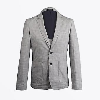 PS Paul Smith  - Houndstooth Blazer - Grey