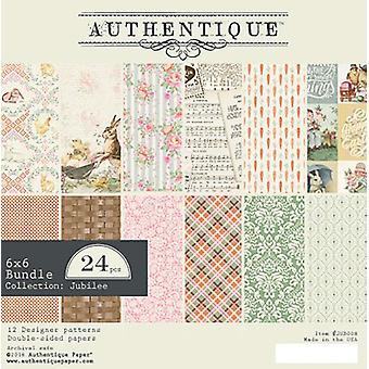 Authentique اليوبيل 6x6 بوصة ورقة وسادة