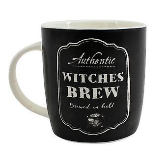 Quelque chose de différent sorcières infusion tasse en boîte en céramique