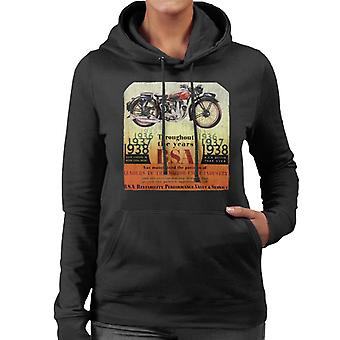 BSA Throughout The Years Women's Hooded Sweatshirt