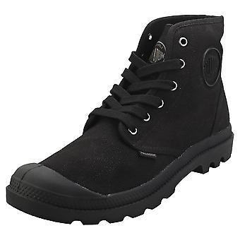 Palladium Pampa Hi Mens Fashion Boots in Black Black