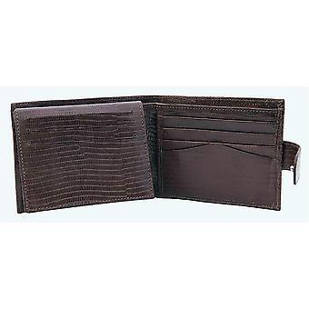 Primehide Leather Mens Wallet Croc Collection Gents Notecase 6614
