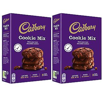 2 x 265g Cookie Mix Dough Vegetarian Chocolate Biscuit Baking Cooking