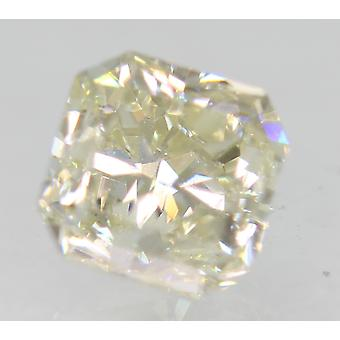 Certificado 1.01 Carat J Color VS1 Radiant Natural Loose Diamond 5.06x5.04mm 2EX