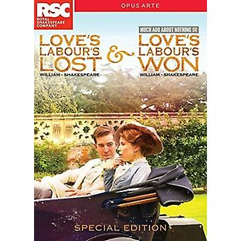 Love's Labour's Lost and Won [DVD] USA import