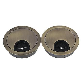 New 50mm Multifunction Wire Hole Cover Set of 2