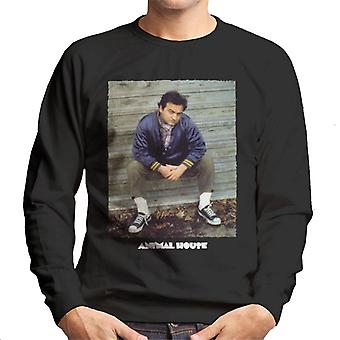 Animal House John Bluto Blutarsky Sitting Men's Sweatshirt