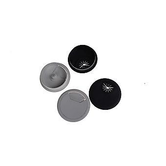 Kaapelin ulostuloportti Surface Wire Hole Cover -tietokone Desk Grommet