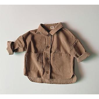 Baby Large Pocket Shirts, Coat Jacket Clothes Outerwear