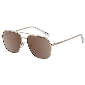 Dirty Dog Magnitude Polarised Sunglasses - Light Gold/Brown