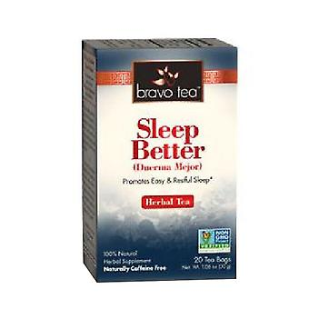 Bravo Tea & Herbs Sleep Better Tea, 20 Bags